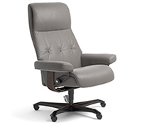 Stressless Sky Recliner Chair - Office Desk Chair Base