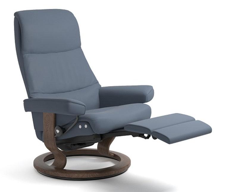 Stressless View LegComfort Power Footrest Recliner Chair