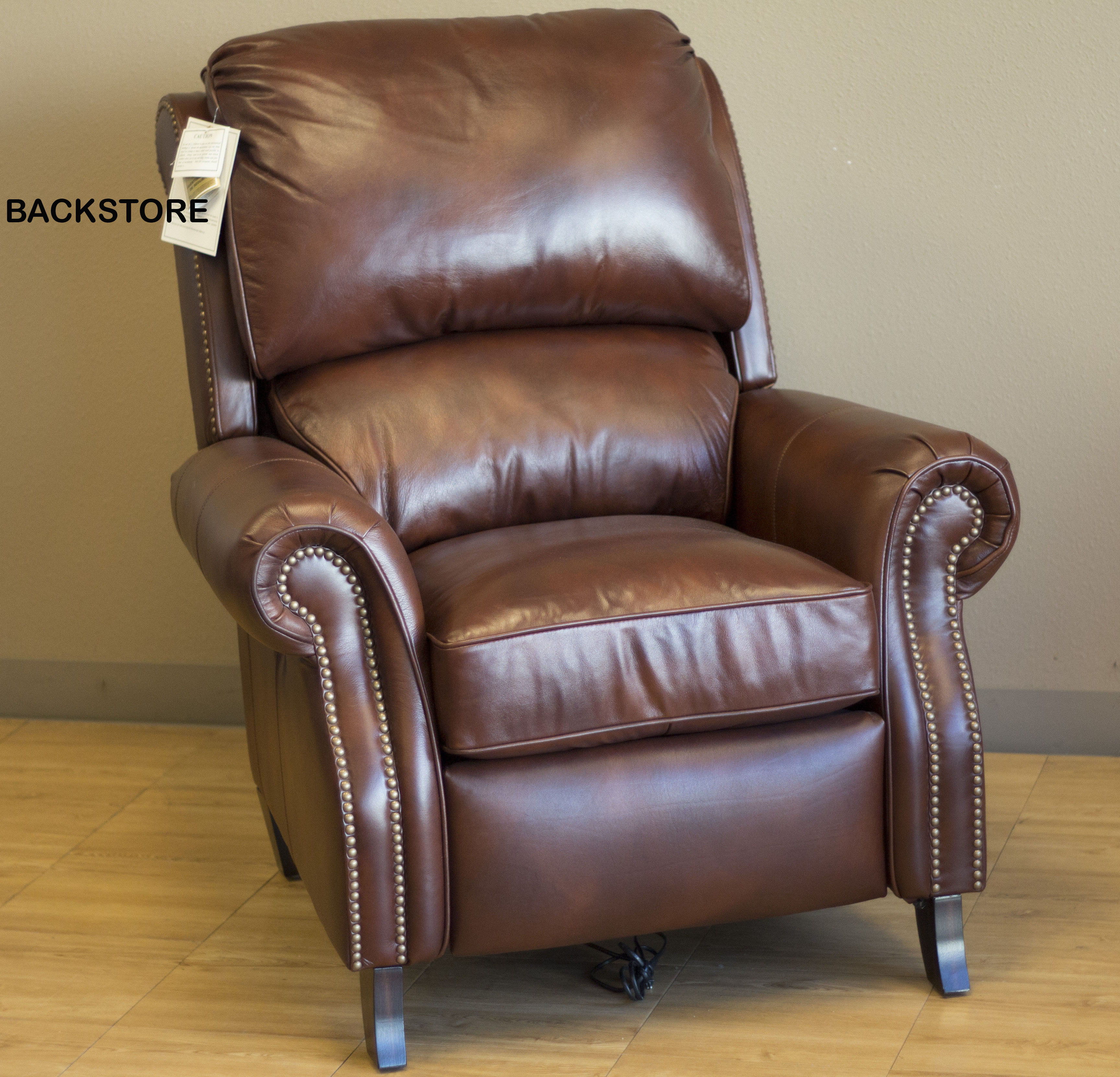 barcalounger churchill ii recliner chair leather. Black Bedroom Furniture Sets. Home Design Ideas