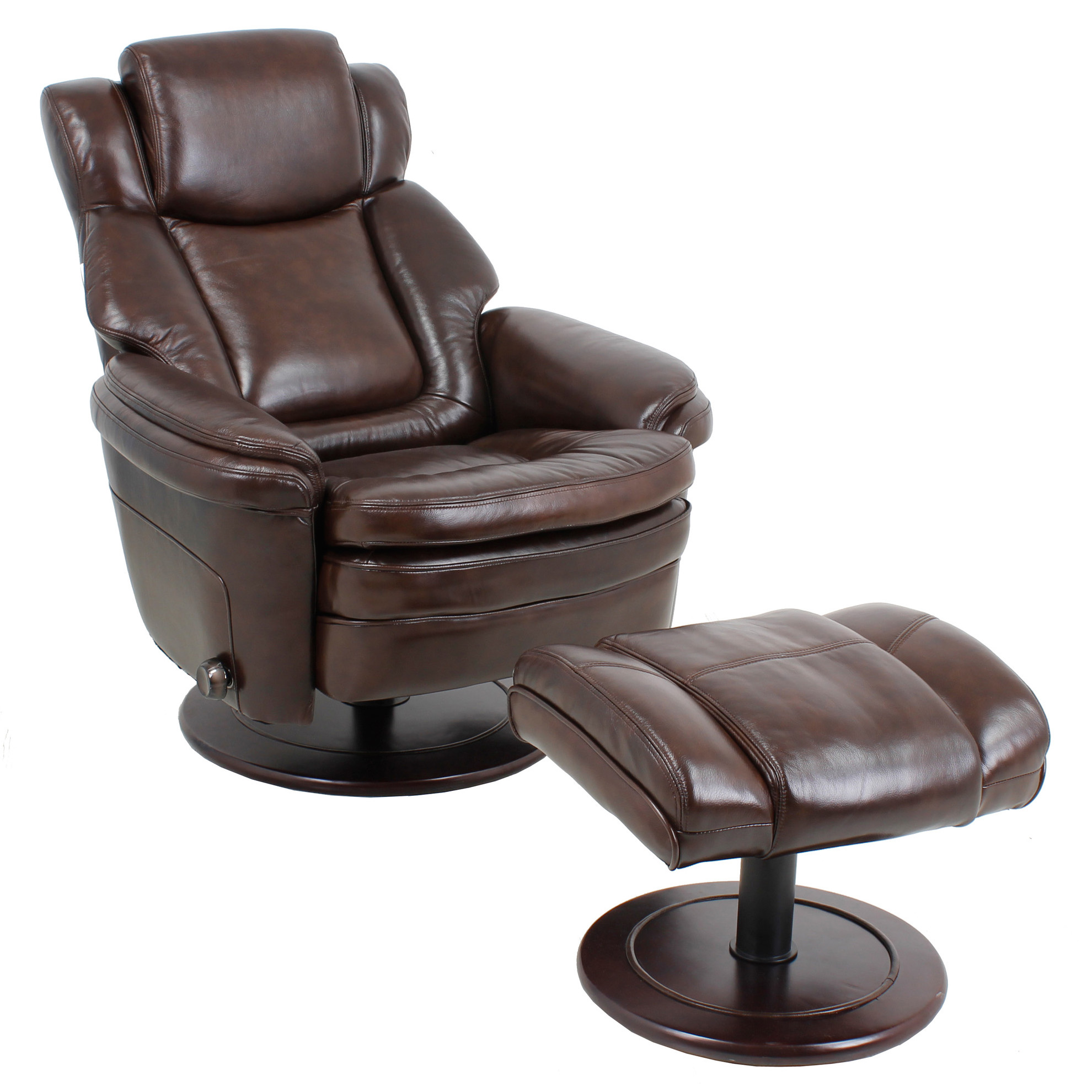 black charleston ottoman product cfm recliner barcalounger with back push hayneedle leather master