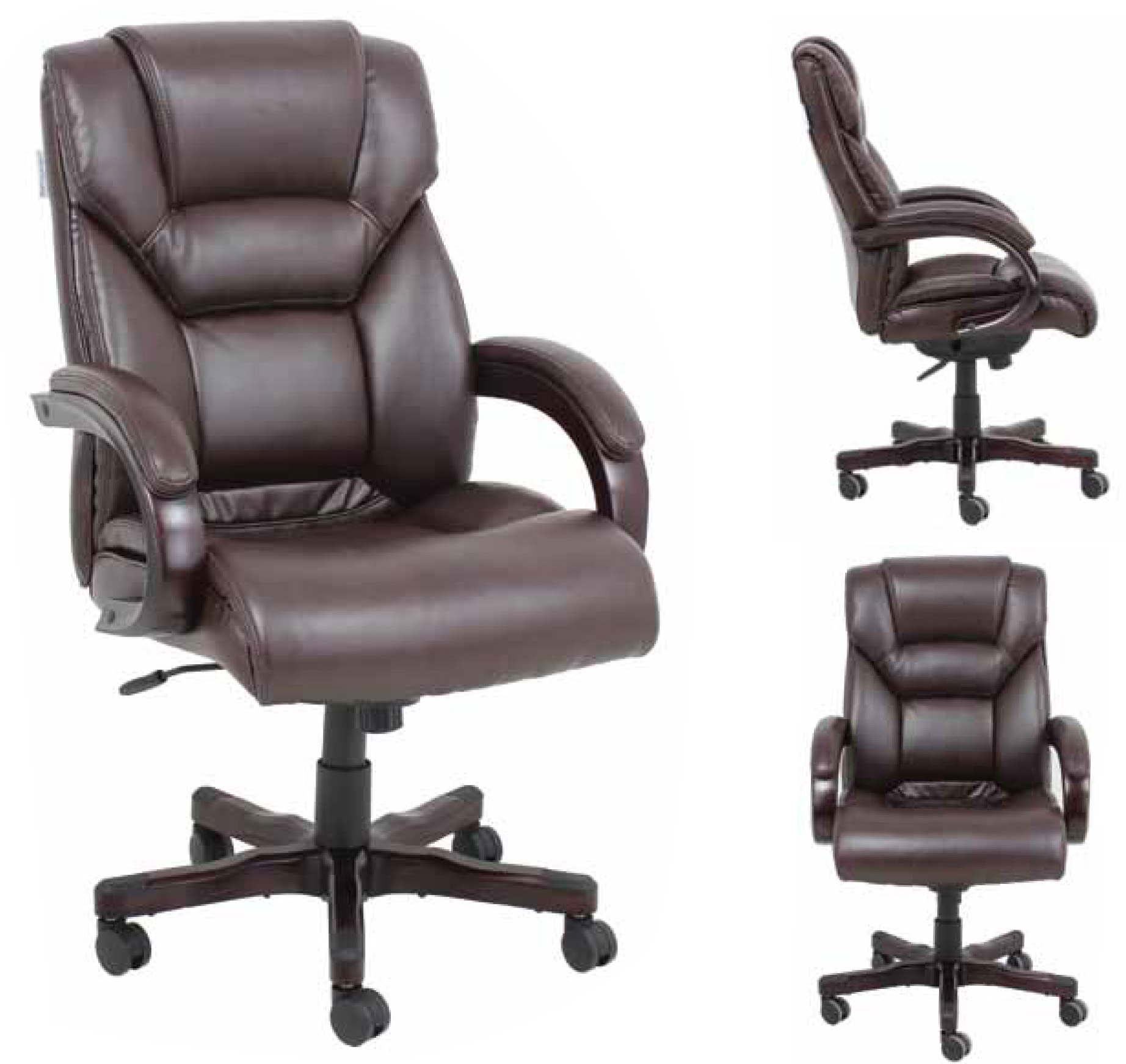 Barcalounger Neptune Ii Home Office Desk Chair Recliner Leather