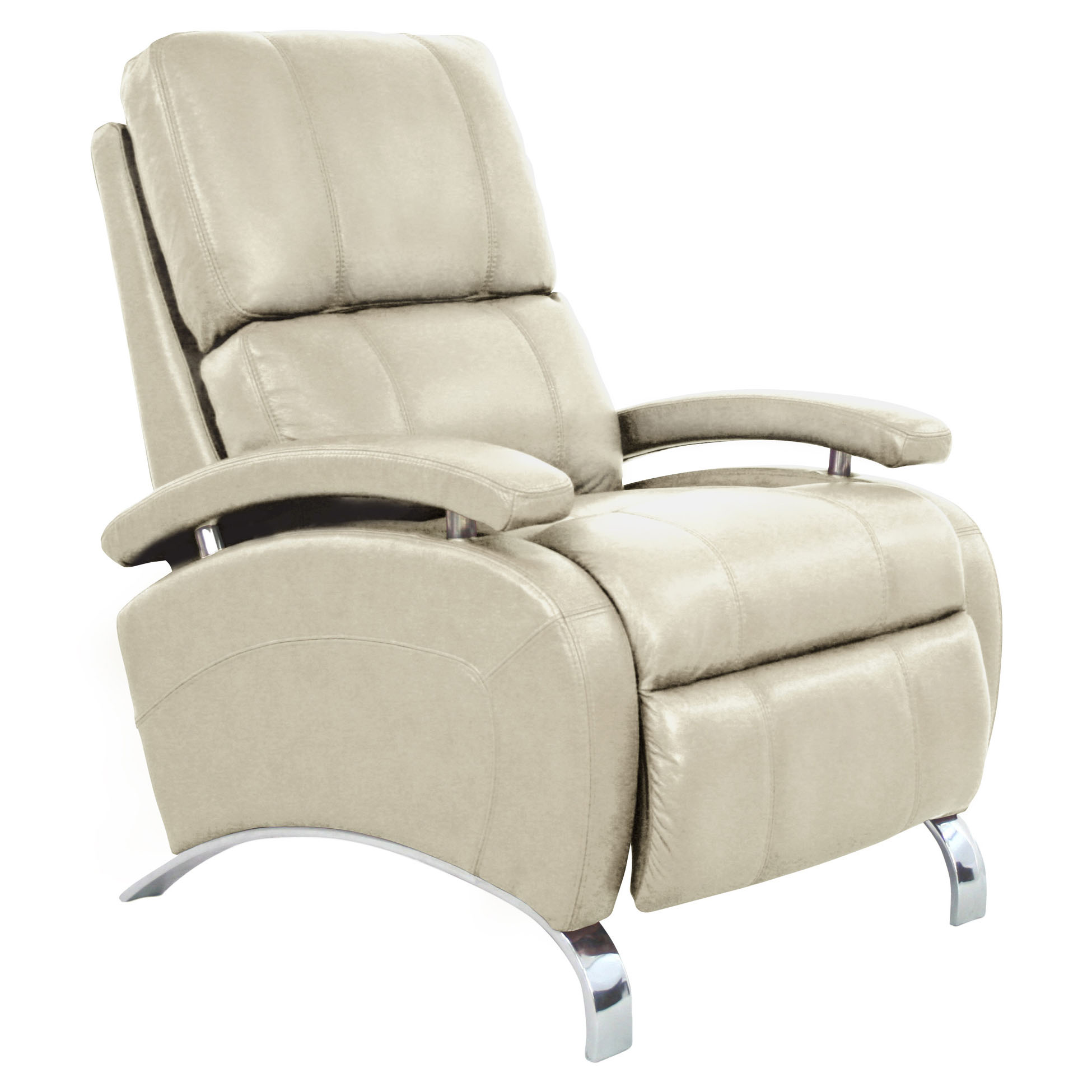 Lovely Barcalounger Oracle II Recliner Chair - Leather Recliner Chair  OS44