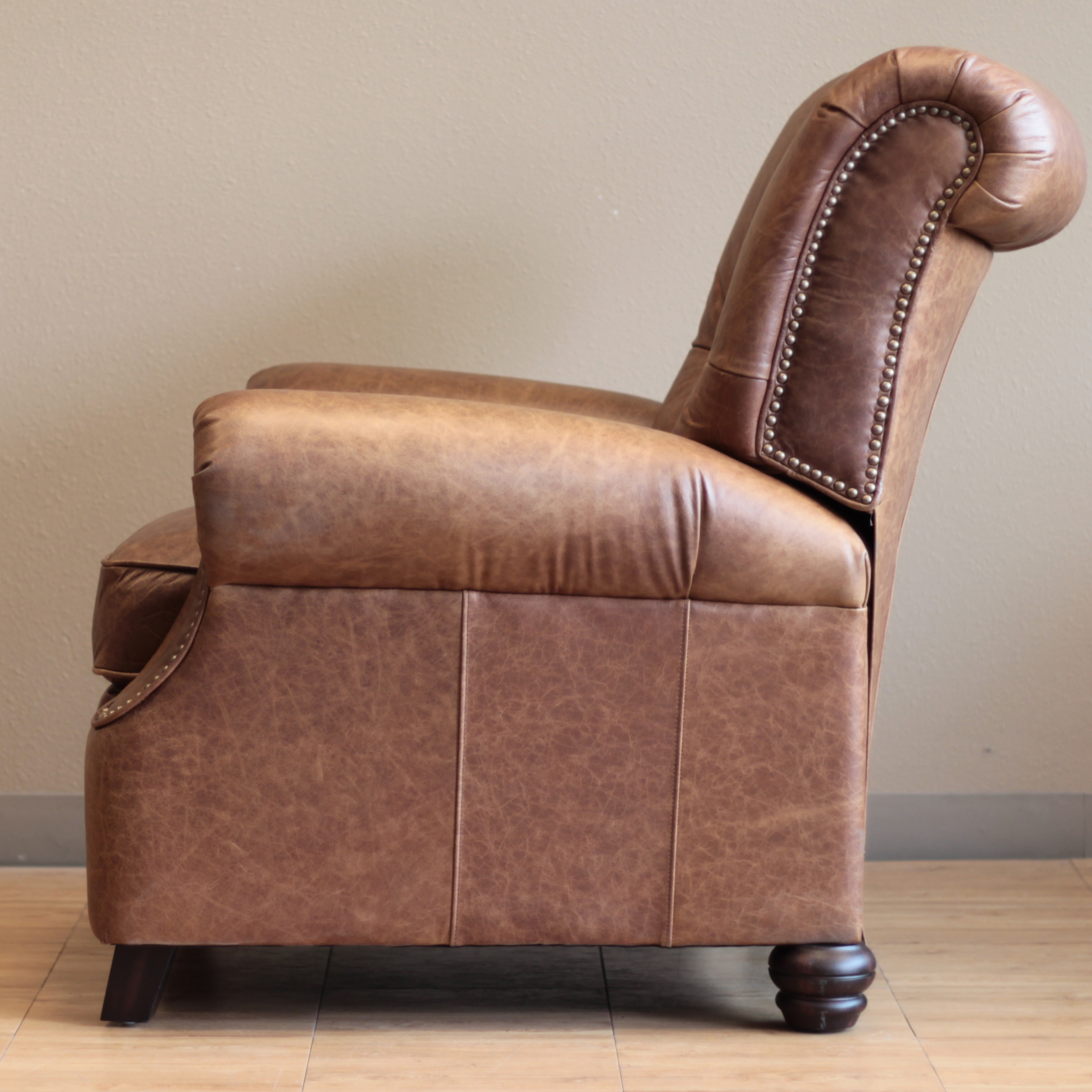 Barcalounger Phoenix Ii Recliner Chaps Saddle Leather Chair