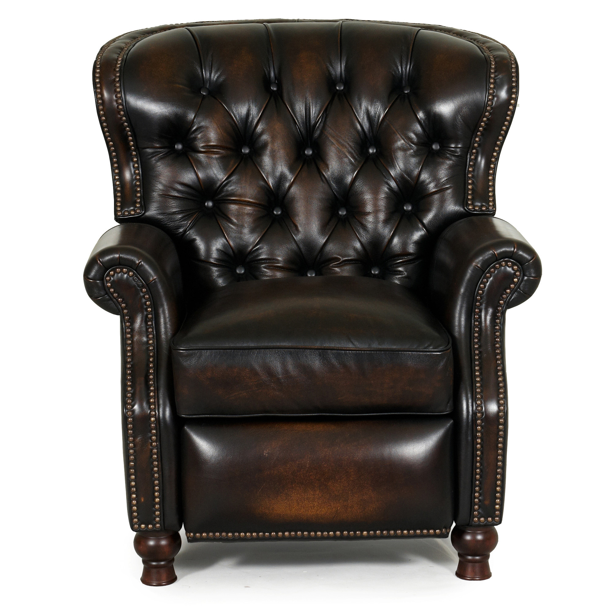 Delicieux Barcalounger Presidential II Recliner Chair Coffee Leather