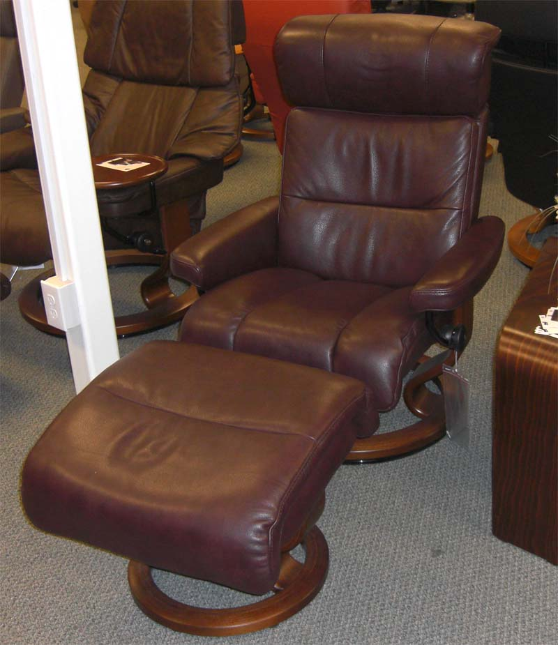 Stressless Savannah Large Recliner Chair Ergonomic Lounger
