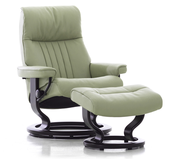 Delicieux Stressless Crown Medium Recliner Chair And Ottoman By Ekornes