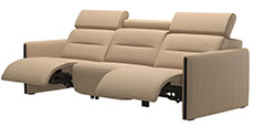 Stressless Emily 3 Seat High Back Sofa Sectional by Ekornes