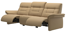 Stressless Mary 3 Seat High Back Sofa Sectional by Ekornes