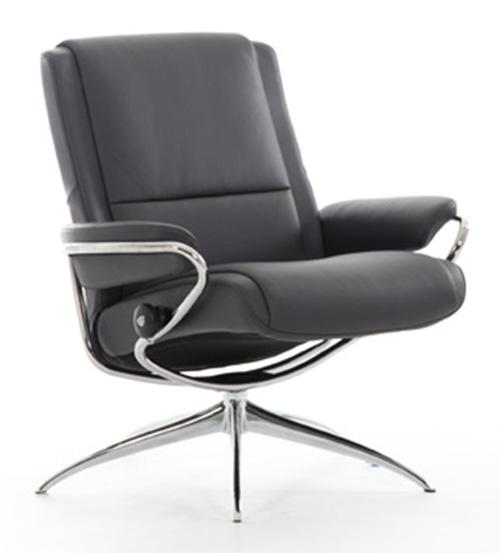 Superbe Stressless Paris Low Back Recliner Chair By Ekornes