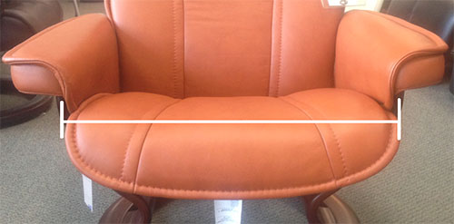 Stressless Recliner Chair Size Guide Measurement How To Determine The Of My