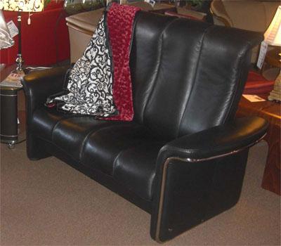 Stressless Soul High Back Leather Recliner Sofa by Ekornes