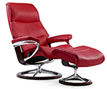Stressless View Recliner Chair and Ottoman