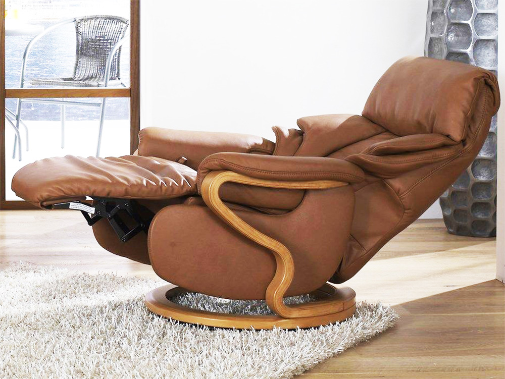 Himolla Chester Leather ZeroStress Integrated Recliner Chair