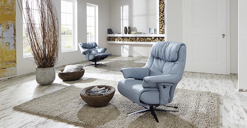 Himolla Fantasia ZeroStress Zero Gravity Recliner Chair 8501 36S