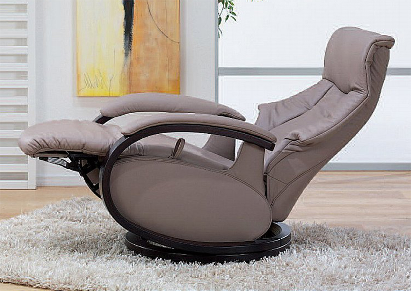Himolla Mosel Zerostress Integrated Recliner Leather Chair