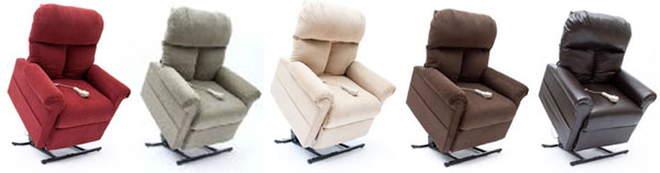 Mega Motion LC 100 Electric Power Recline Easy Comfort Lift Chair Recliner  Colors