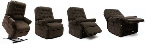 Mega Motion LC 500 Electric Power Recline Easy Comfort Lift Chair Recliner