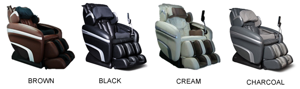 Good Osaki OS 7200H Executive Zero Gravity Massage Chair Recliner Colors