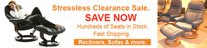 Stressless Leather Upgrade Sale