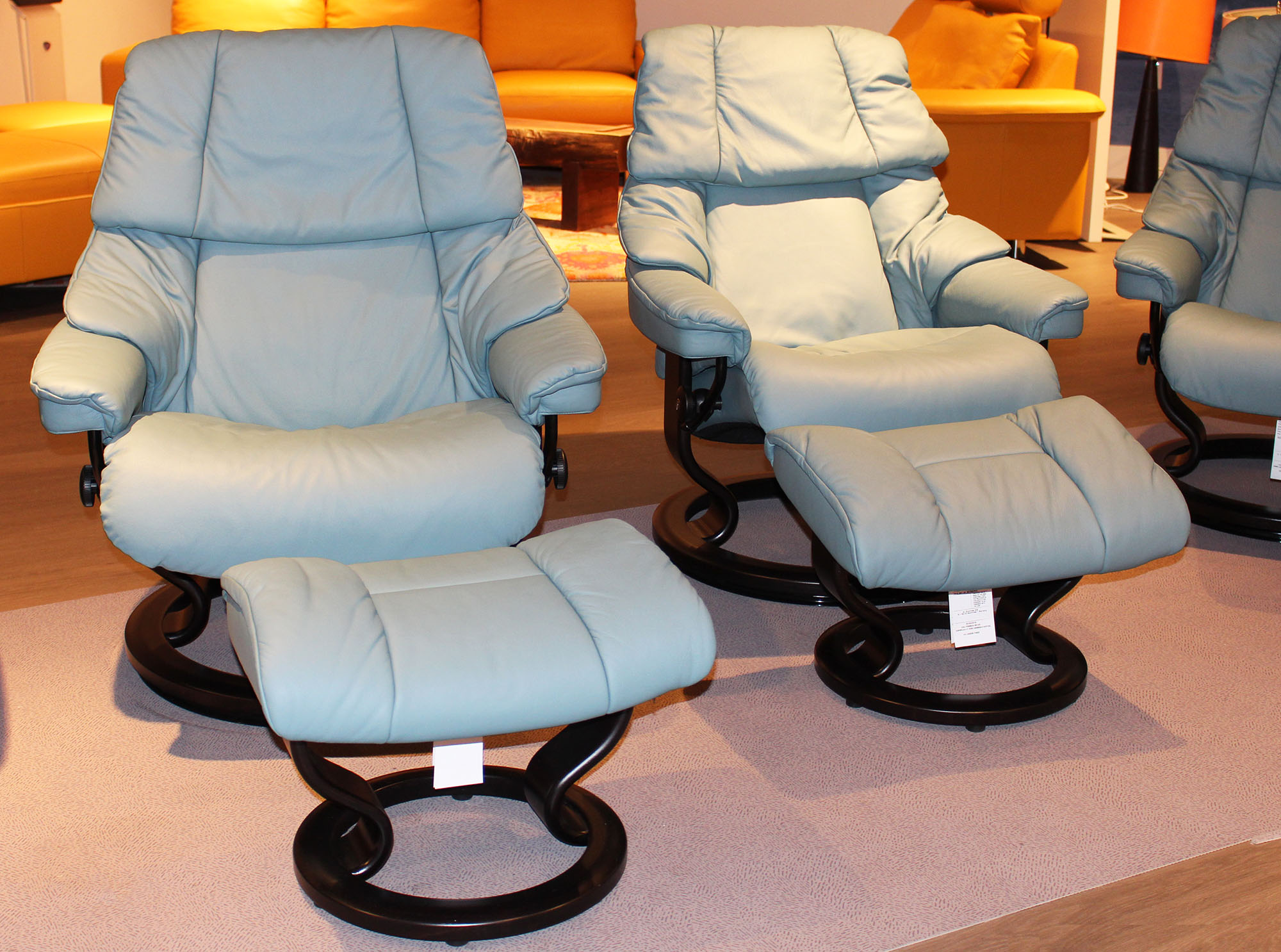 Cool Stressless Sofa Loveseat Recliner Chair And Ottoman By Ekornes Bralicious Painted Fabric Chair Ideas Braliciousco