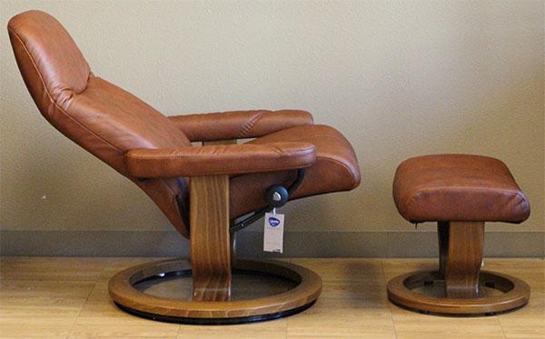Stressless Batick Caramel 09348 Leather By Ekornes Stressless Batick Caramel 09348 Leather Chairs Recliners