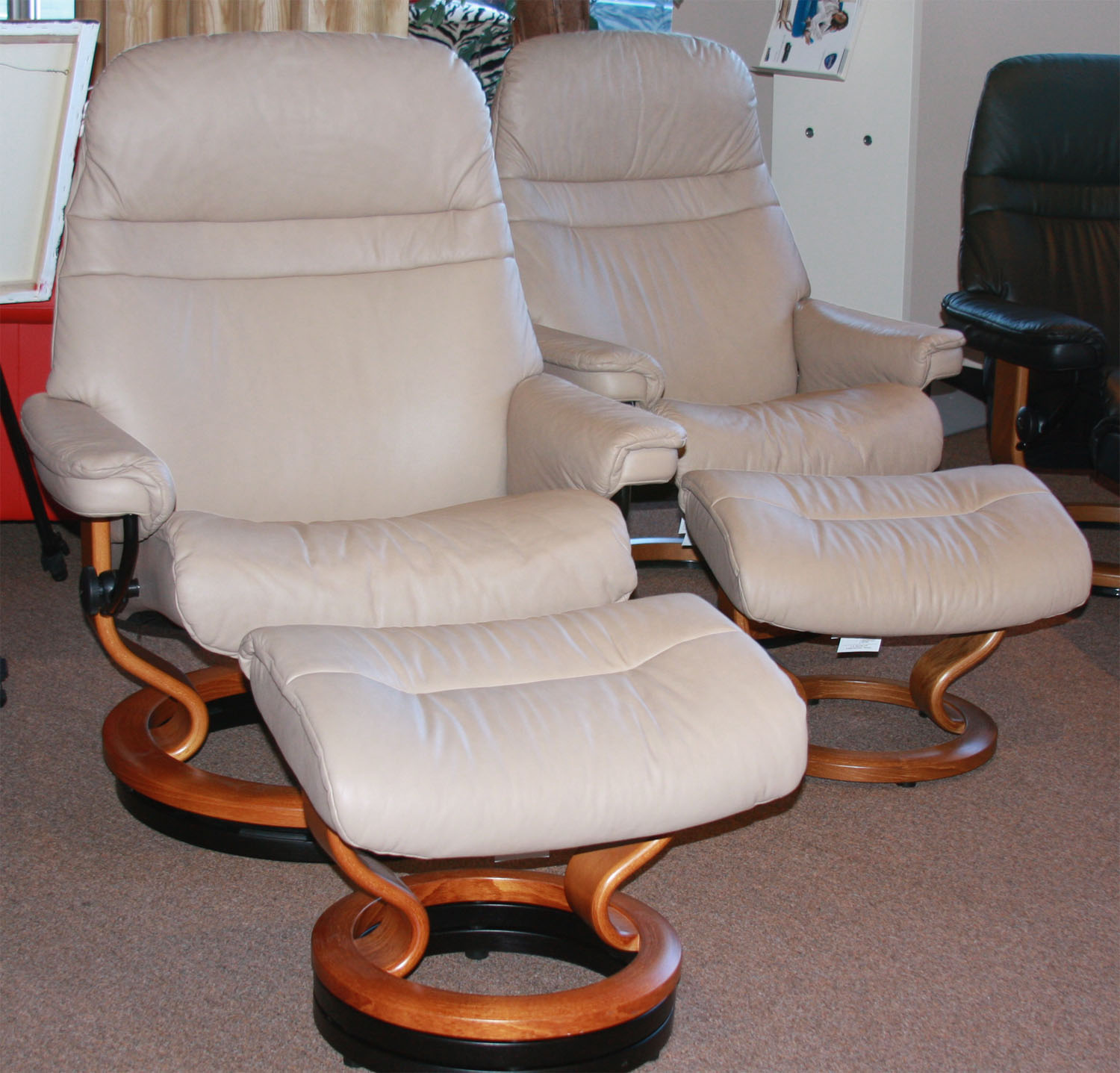 stressless sunrise recliners chairs by ekornes recliner lounger