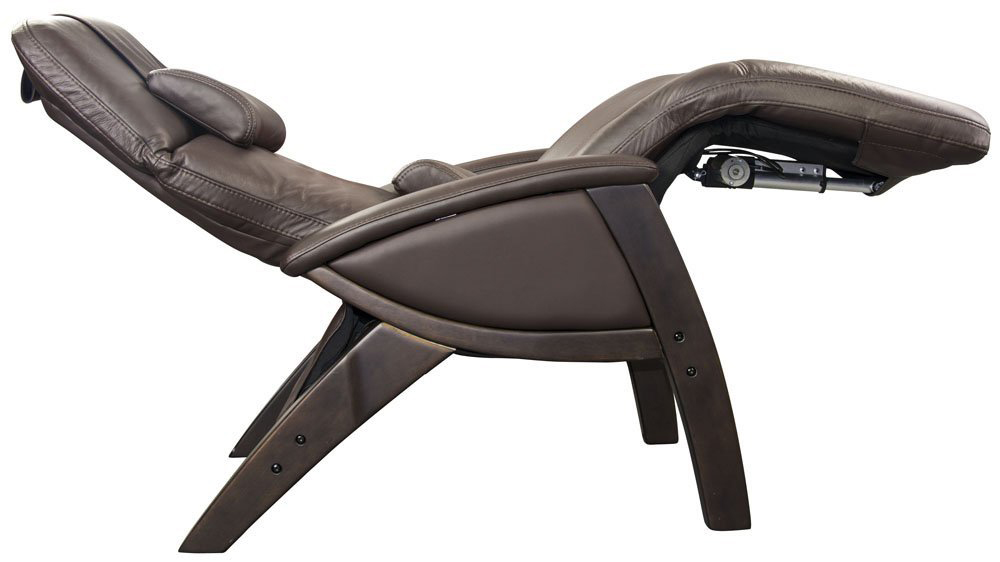 Delicieux Svago SV400 Lusso Chair Zero Gravity Chocolate Leather Dark Walnut Wood  Recliner
