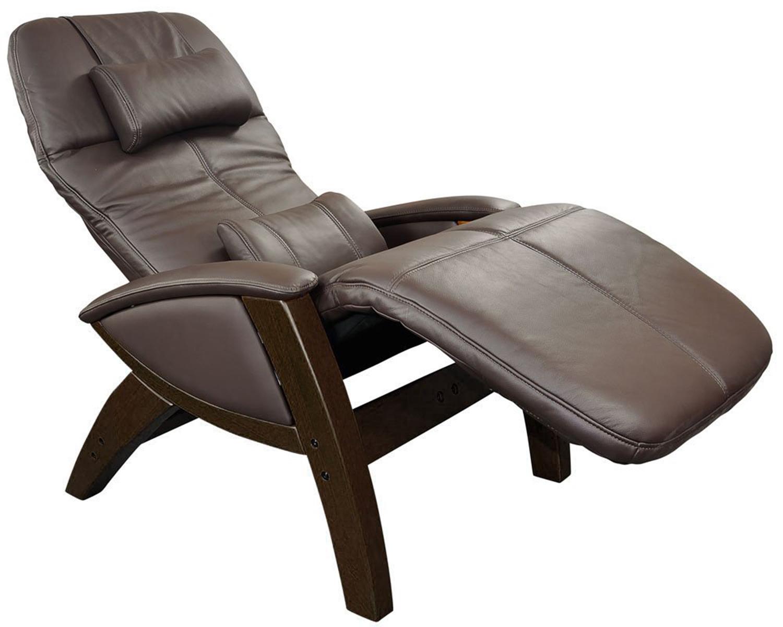 New Black Leather Svago Lusso Top Grain Zero Gravity Chair