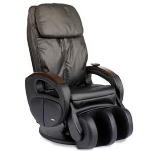 BERKLINE 16019 Feel Good Shiatsu Massage Chair Recliner Black