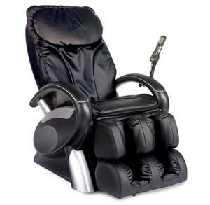 BERKLINE 16020 Feel Good Shiatsu Massage Chair Recliner Black