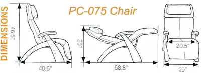 Silhouette Perfect Chair Pc 075 From Human Touch The