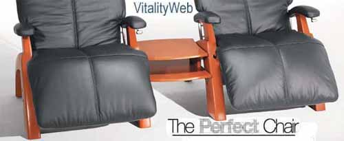 The Perfect Chair Zero Gravity Recliner From Human Touch