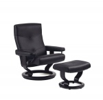 Stressless Alpha Recliner Chairs and Ottoman