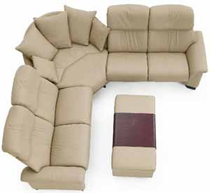 Stressless Paradise High Back Sofa Sectional By Ekornes