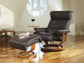 Ekornes Stressless Memphis Savannah Recliner Chair Lounger
