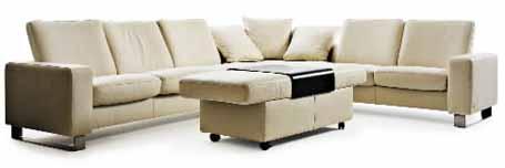 Ekornes Stressless E High Back Sofa Loveseat Chair And